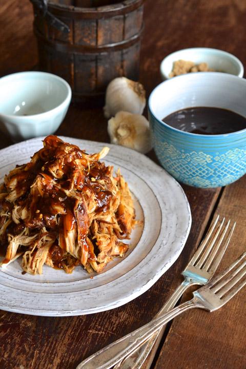 Garlic & Brown Sugar Glazed Chicken