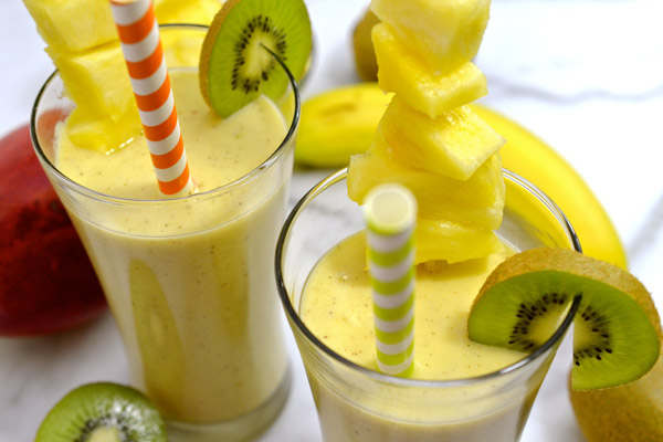 fruit trees healthy breakfast fruit smoothie recipes