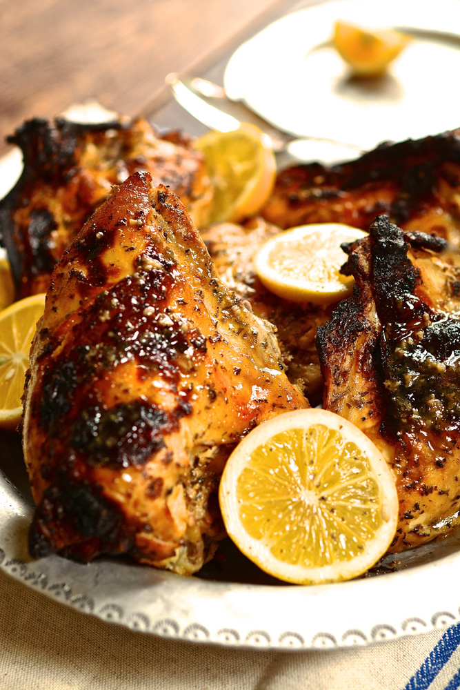 Roasted Chicken Breast with Meyer Lemon
