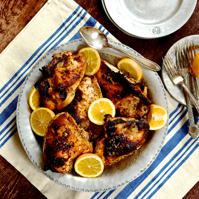 starting with her roasted chicken because – well – because ...