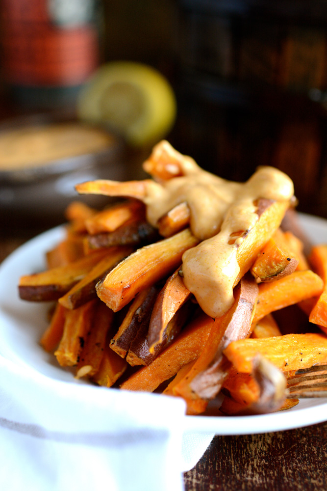 ... cold one and treat yourself to some sweet and spicy fries, today