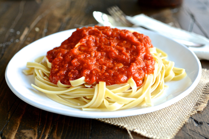 Marcella Hazan's Tomato Sauce with Butter and Onion ciaochowbambina ...