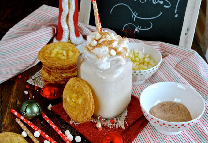 White Chocolate Snickerdoodle Milkshake ciaochowbambina.com