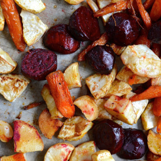 Roasted Root Vegetables ciaochowbambina.com
