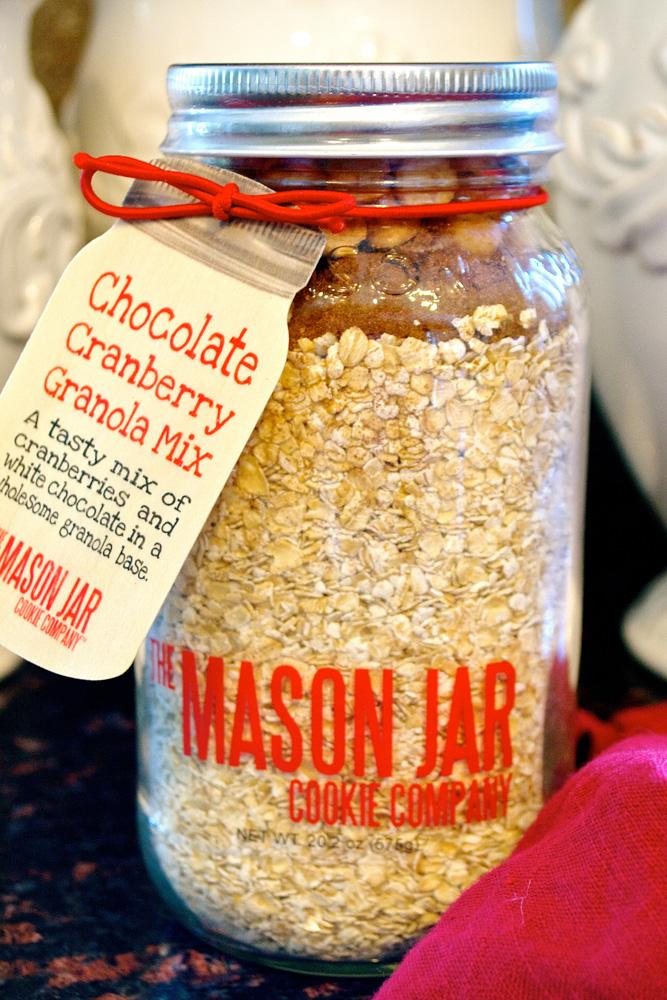 Chocolate Cranberry Granola ciaochowbambina.com