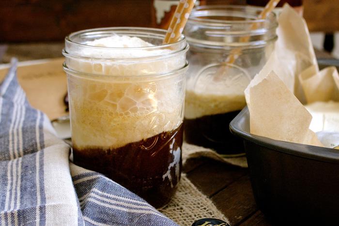 Boozy Root Beer Float with No-Churn Vanilla Bean Ice Cream ciaochowbambina.com
