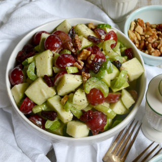 Green Apple Waldorf Salad ciaochowbambina.com