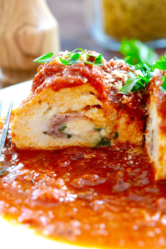 Chicken Braciole with Parmesan & Pancetta ciaochowbambina.com
