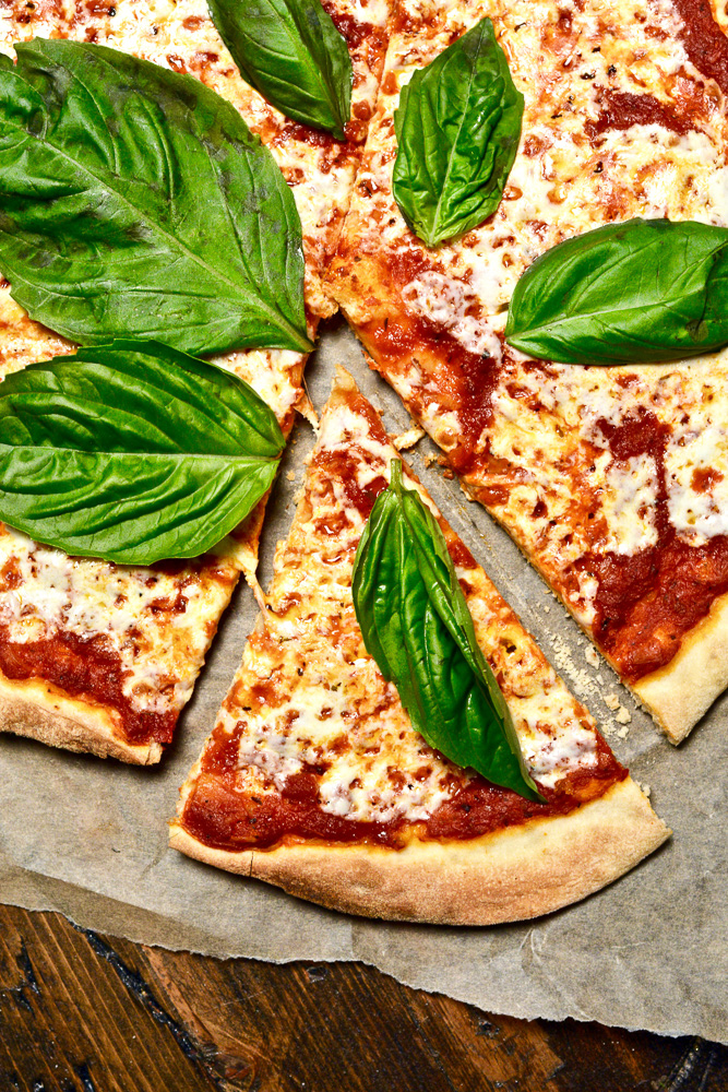 Authentic Margherita Pizza for International Day of Italian Cuisines ciaochowbambina.com