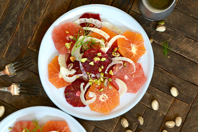 Fennel and Citrus Salad ciaochowbambina.com
