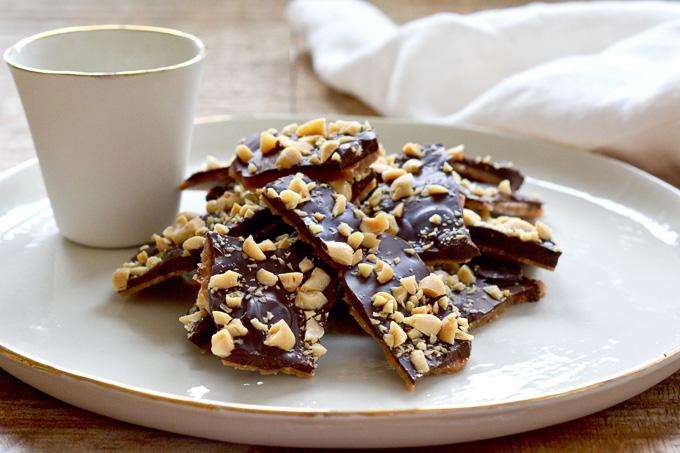 Homemade Butter Toffee ciaochowbambina.com