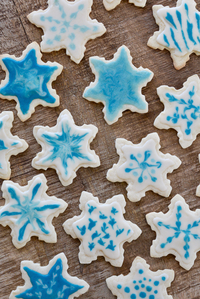 Snowflake Sugar Cookies ciaochowbambina.com