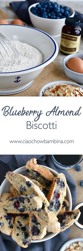 Blueberry Almond Biscotti ciaochowbambina.com