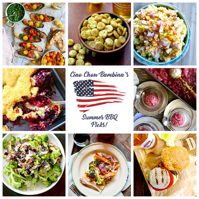 Summer BBQ Recipes! ciaochowbambina.com