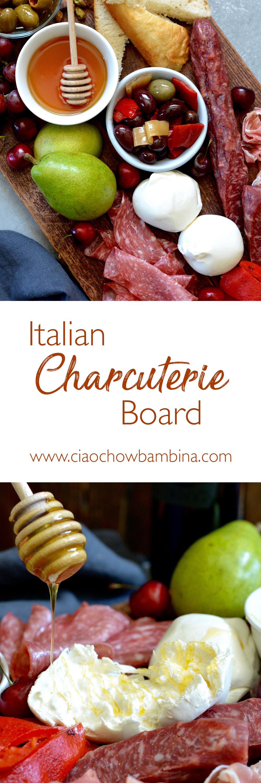 Italian Charcuterie Board Ciao Chow Bambina