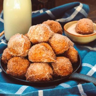 Deep Fried Pumpkin Pie Bites ciaochowbambina.com