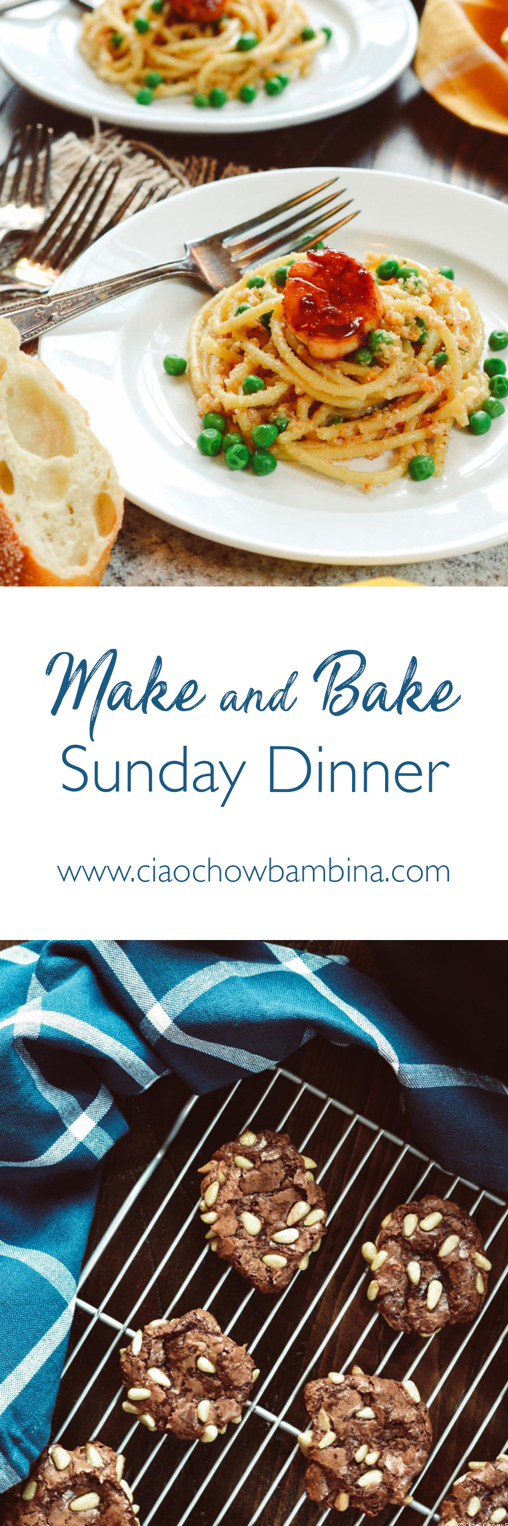 Make & Bake Sunday Dinner ciaochowbambina.com