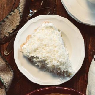 Coconut Cream Pie ciaochowbambina.com
