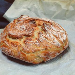 Simple No Knead Bread ciaochowbambina.com