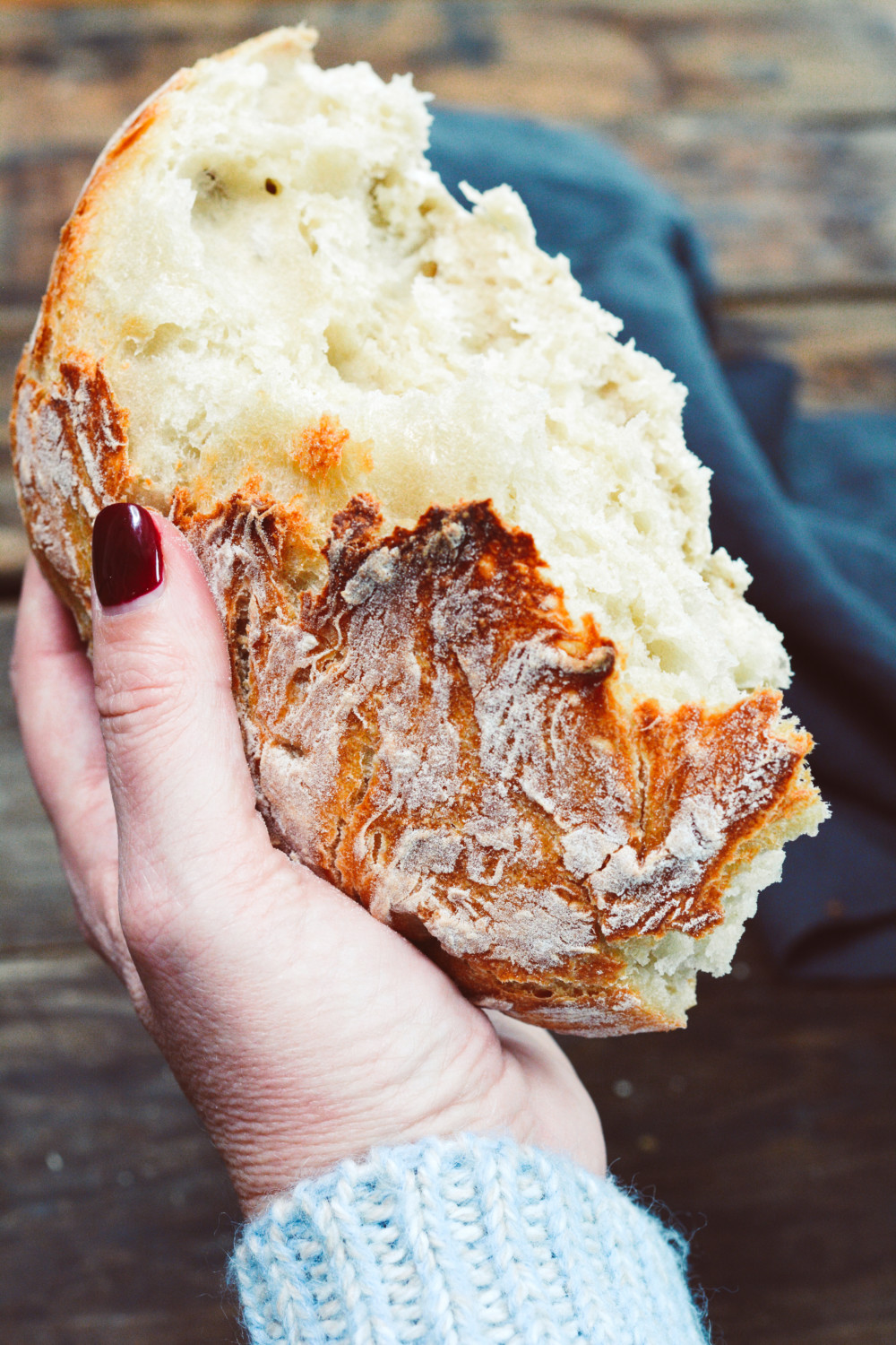 Simple No Knead Bread - Ciao Chow Bambina